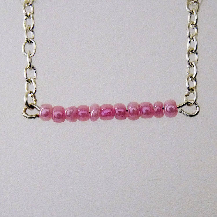upcycled-silver-chain-handmade-necklace-with-pink-glass-bead-bar-59a545671.jpg
