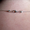 Handmade Arrow Head Silver Chain Necklace