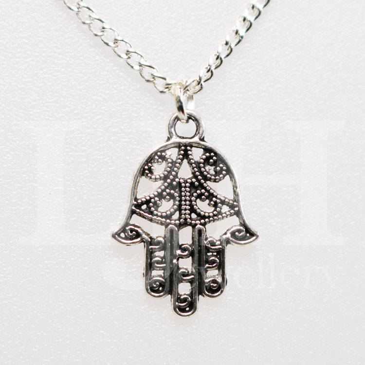 handamde lisa handmade jewellery hand necklace hamsa angel necklaces